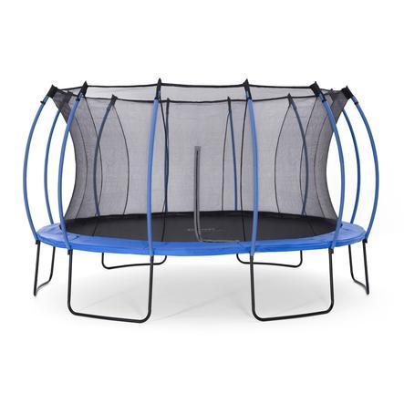 plum® Springsafe Trampolin Colours 426 cm mit Sicherheitsnetz, blau