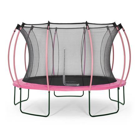 plum® Springsafe Trampolin Colours 366 cm mit Sicherheitsnetz, pink