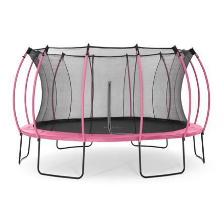 plum® Springsafe Trampolin Colours 426 cm mit Sicherheitsnetz, pink
