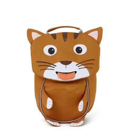 Affenzahn Little friends - mochila infantil: gato, marrón