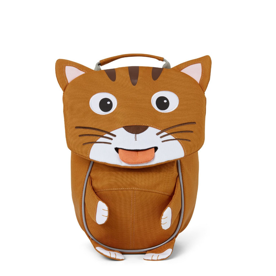 Affenzahn Little friends - plecak dziecięcy: kot, brązowy