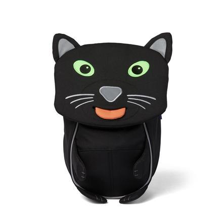 Affenzahn Kleine Freunde - Kinderrucksack: Panther, schwarz