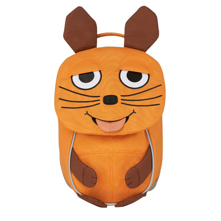 Affenzahn Kleine Freunde - Kinderrucksack: WDR Maus, orange