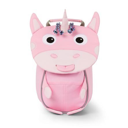 Affenzahn Little friends - børns rygsæk: enhjørning, lyserød