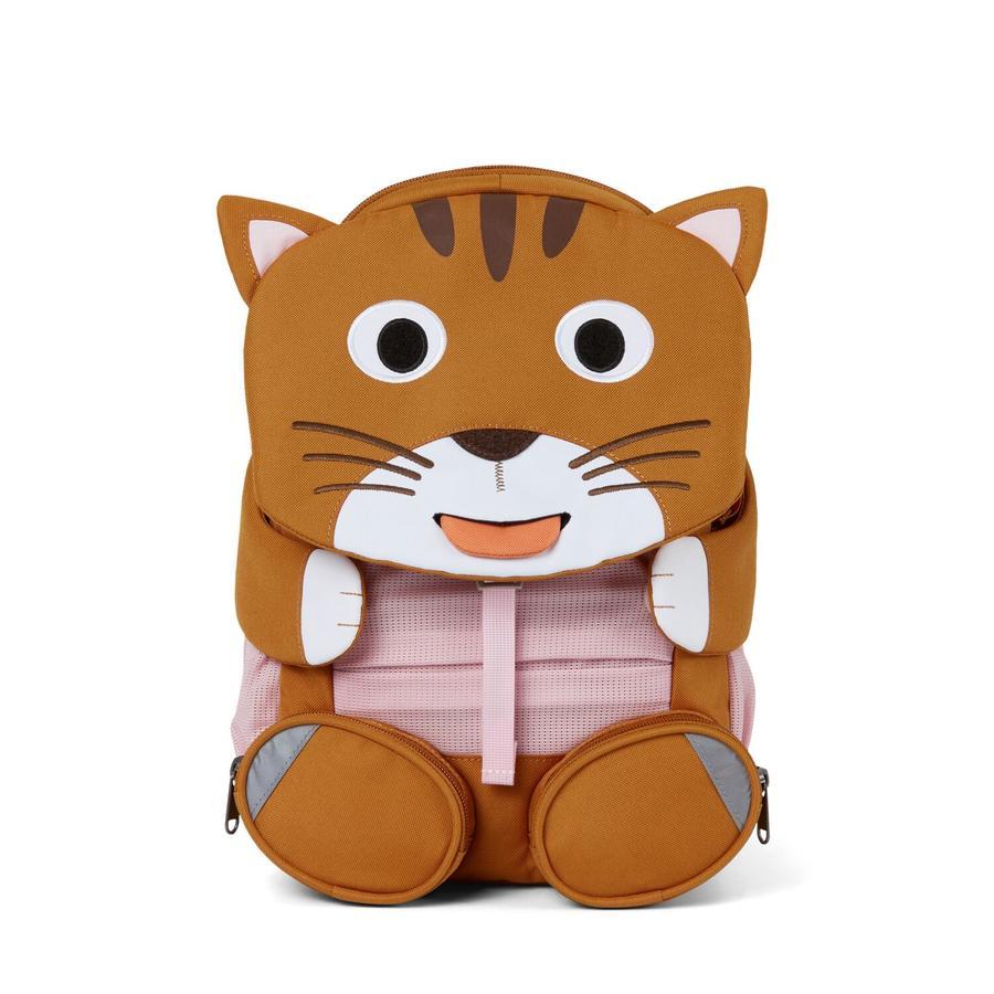 Affenzahn Great friends - dětský batoh: kočka, hnědý