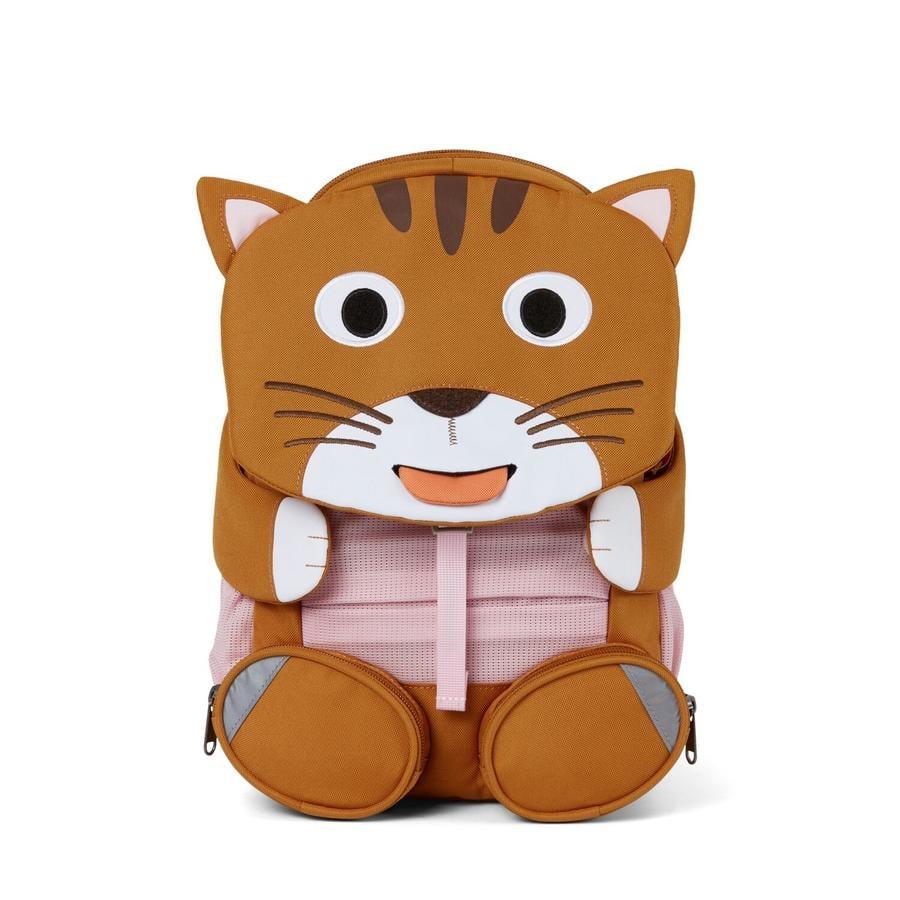 Affenzahn Große Freunde - Kinderrucksack: Katze, braun