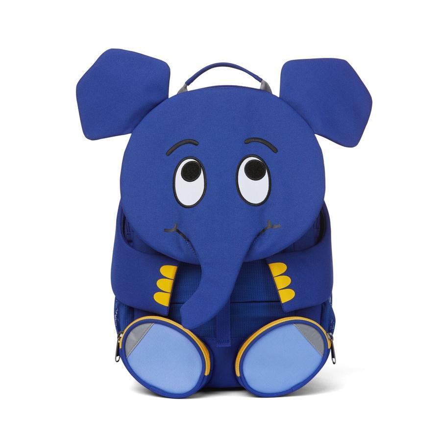 Affenzahn Große Freunde - Kinderrucksack: WDR Elefant, blau