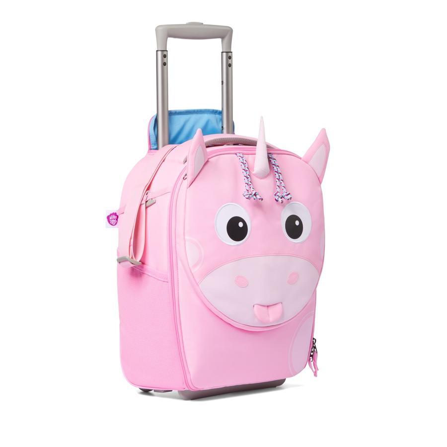 Affenzahn Maleta infantil: unicornio, rosa