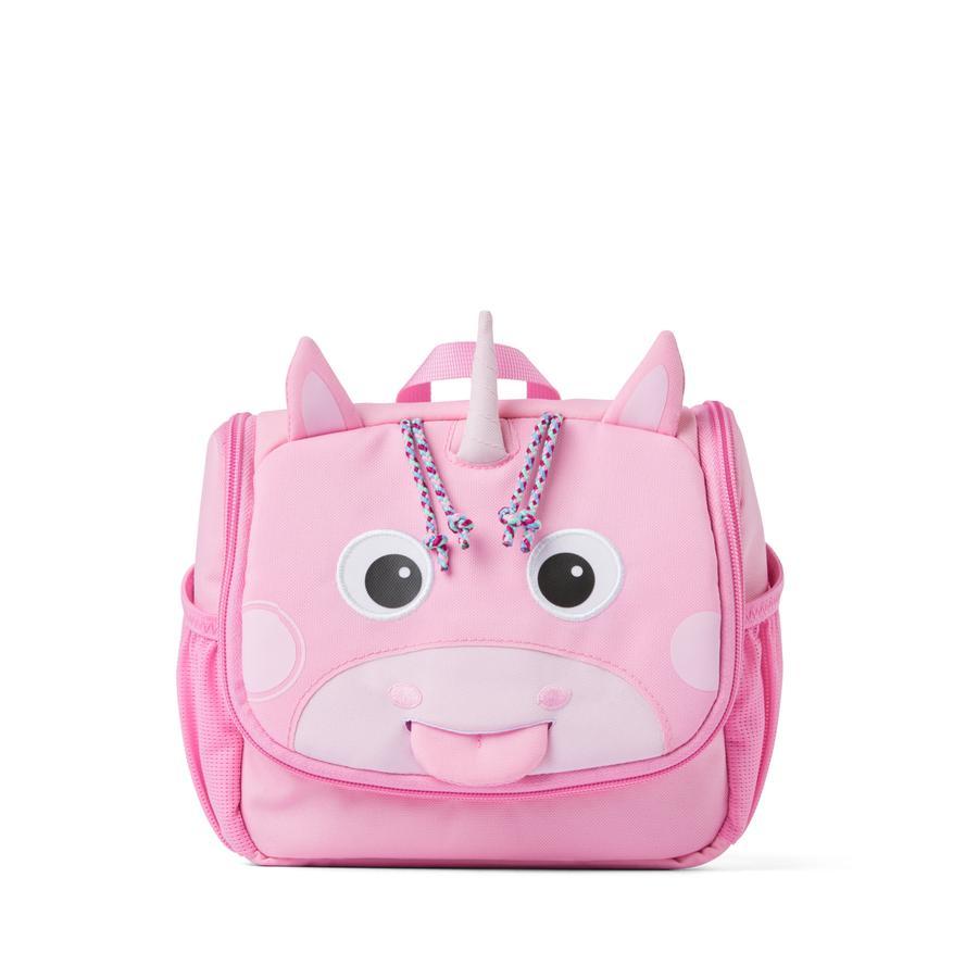Affenzahn Kulturtasche: Einhorn, rosa