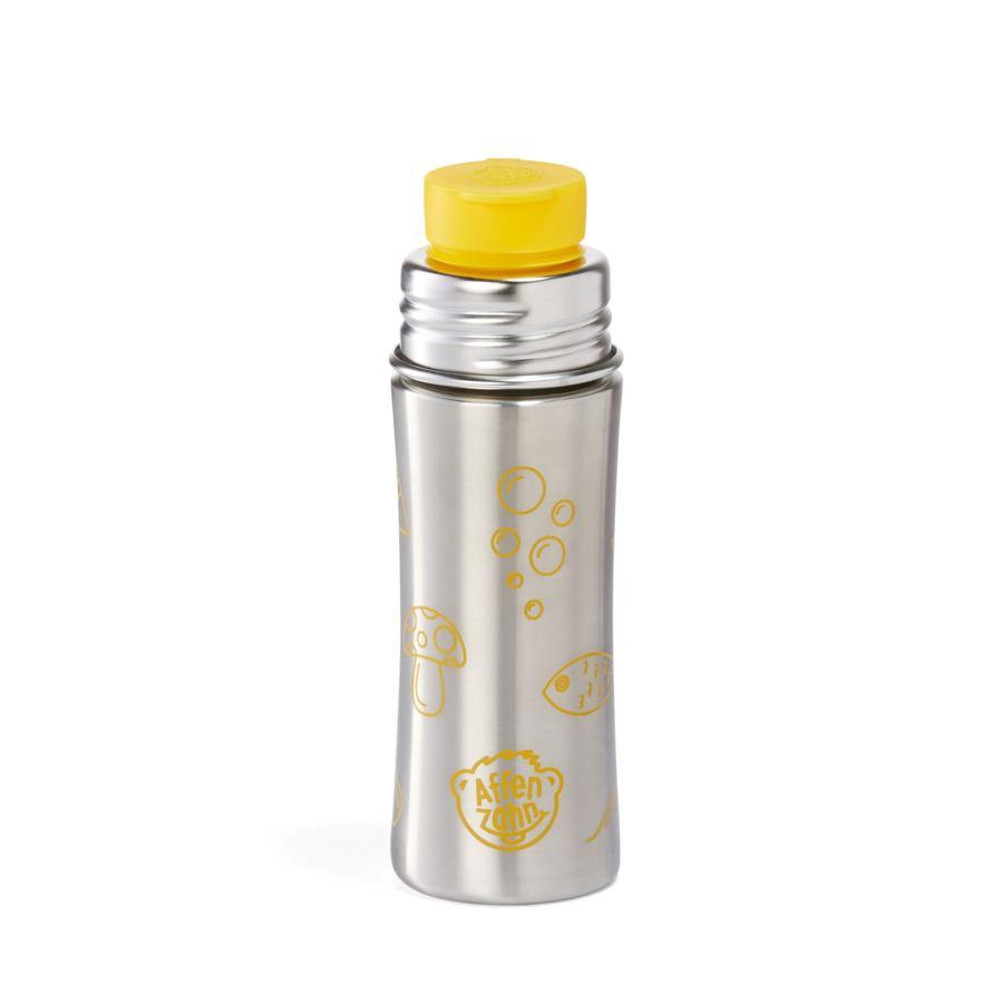 Affenzahn Trinkflasche: Tiger, gelb