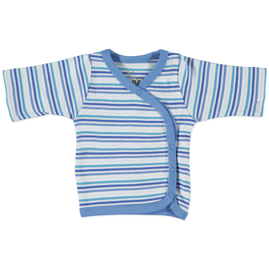 FIXONI Boys Preemie Long Sleeve stripes blue