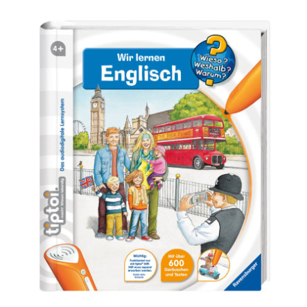 RAVENSBURGER tiptoi Wir lernen Englisch 00585