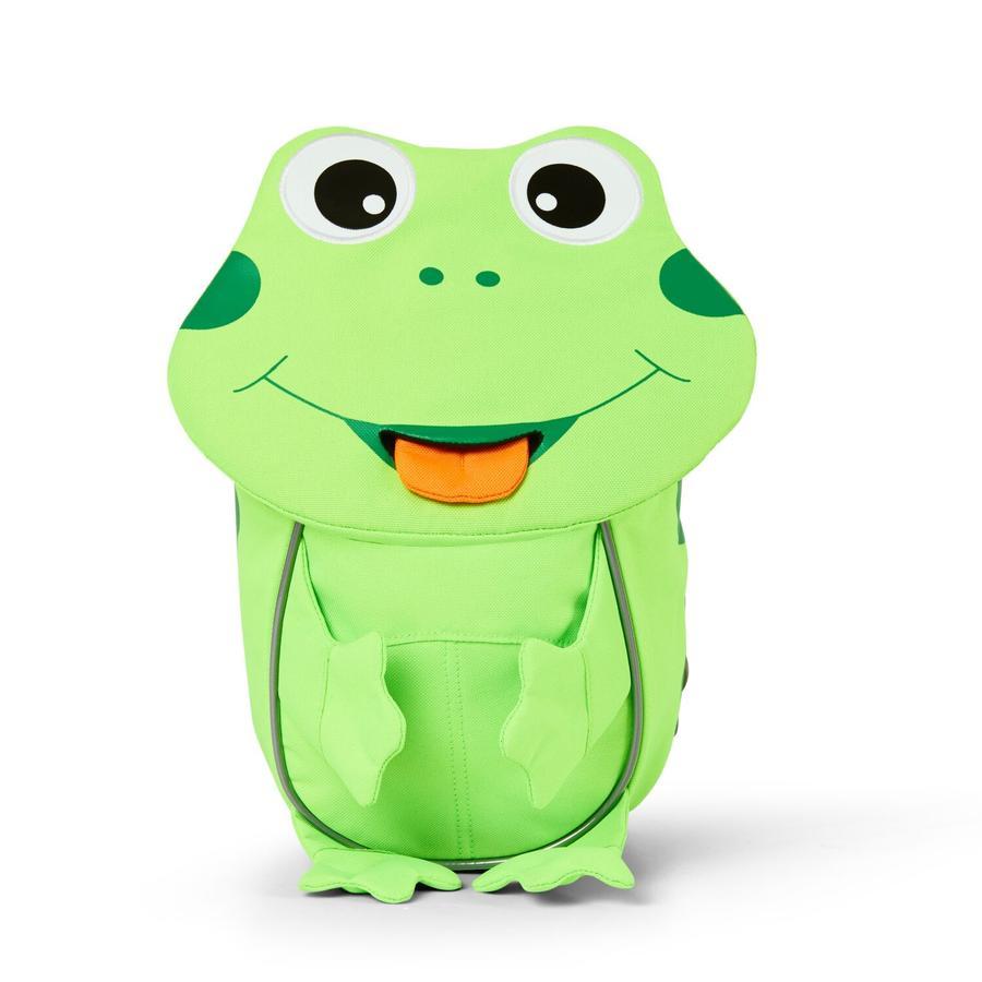 Affenzahn Piccoli amici - zaino per bambini: rana, verde neon