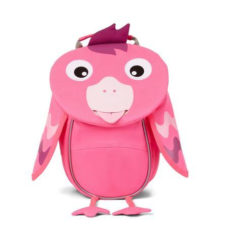 Affenzahn Little friends - plecak dziecięcy: flamingi, neonowy róż