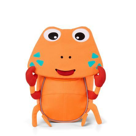 Affenzahn Little friends - rygsæk til børn: krabbe, neon orange