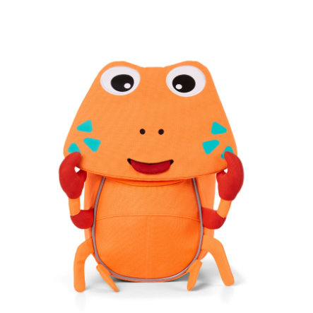 Affenzahn Sac à dos enfant Petits Amis crabe, orange fluo