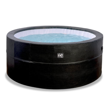 EXIT Leather Premium Whirlpool ø 184 x 73 cm - musta