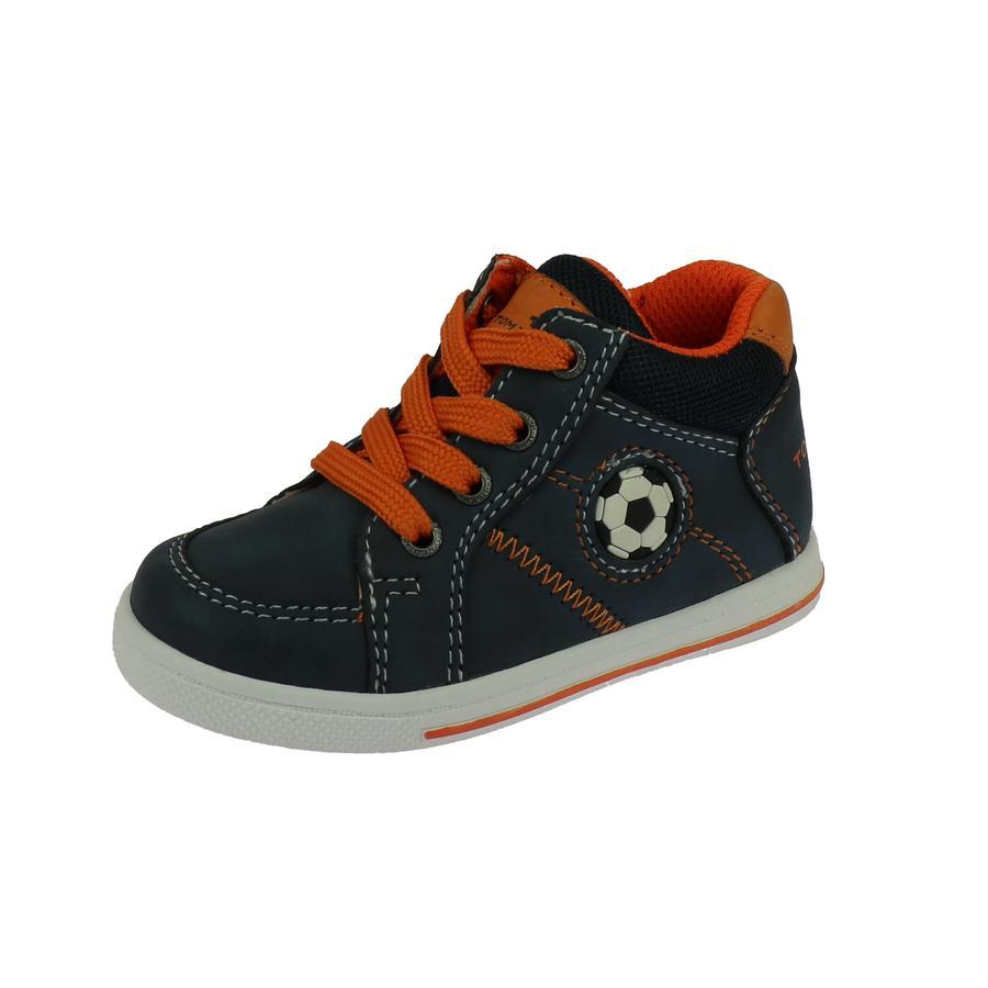 Zapato bajo TOM TAILOR azul marino- orange