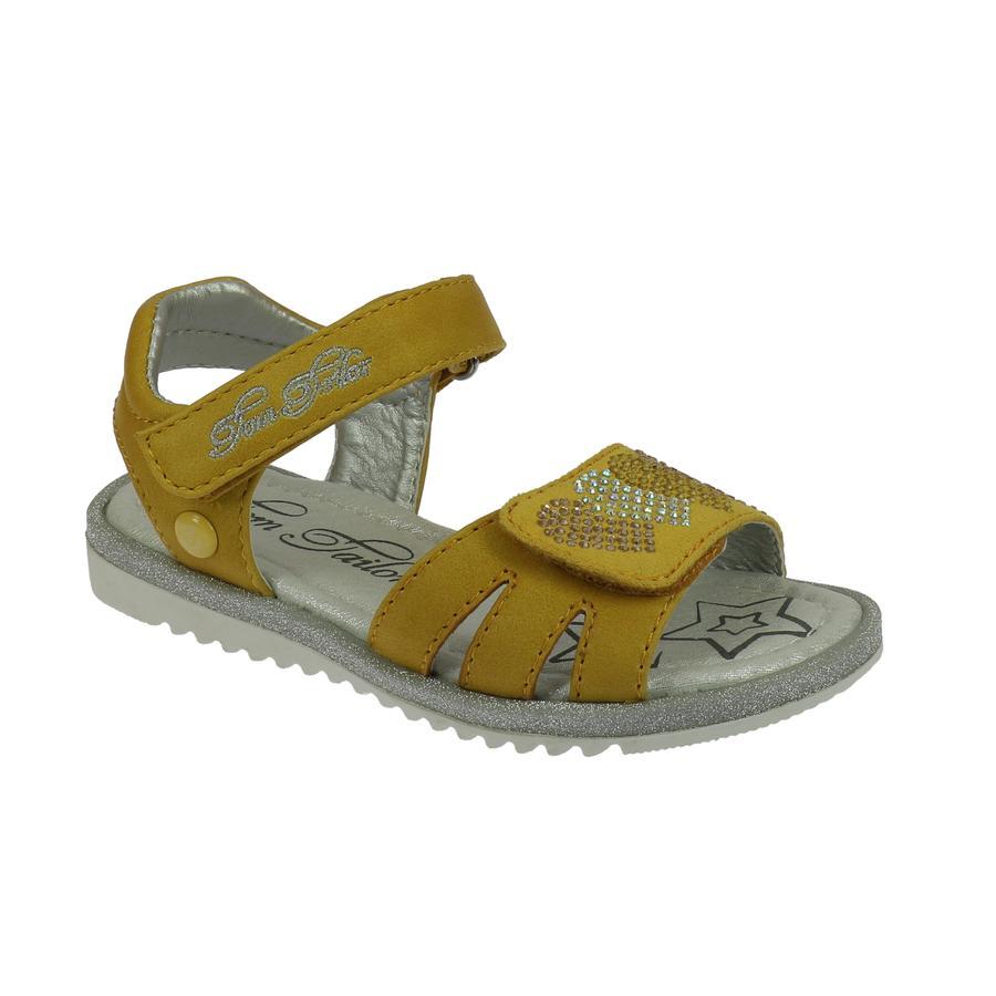 TOM TAILOR Sandale yellow