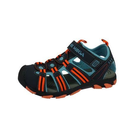 Be Mega Sandale navy-blue-orange