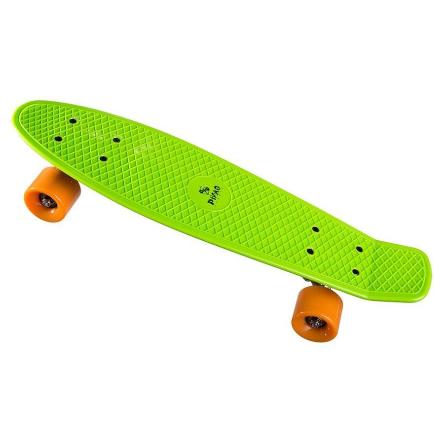 PiNAO Sports Retro-Skateboard grün