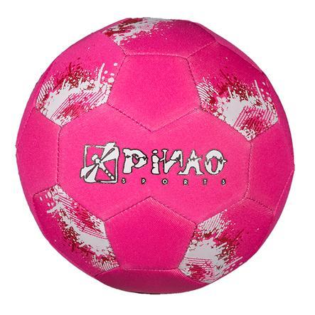 PiNAO Sports Neopren-Mini-Fußball, pink/blau