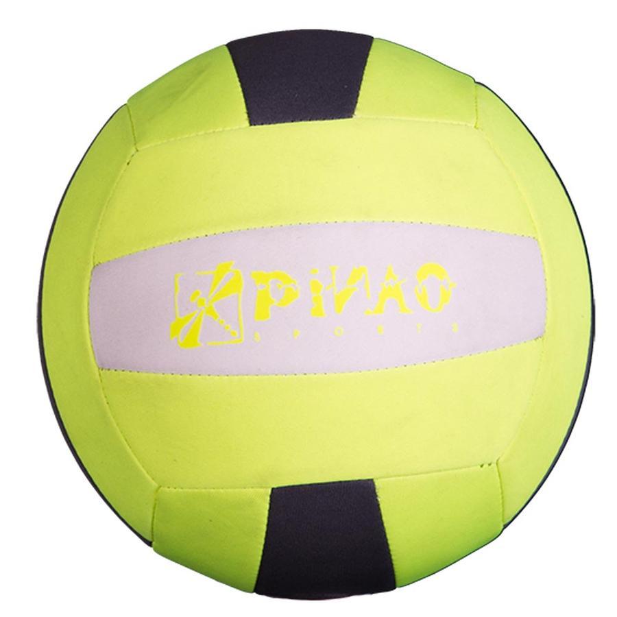 PiNAO Sports Ballon de volley-ball néoprène, jaune