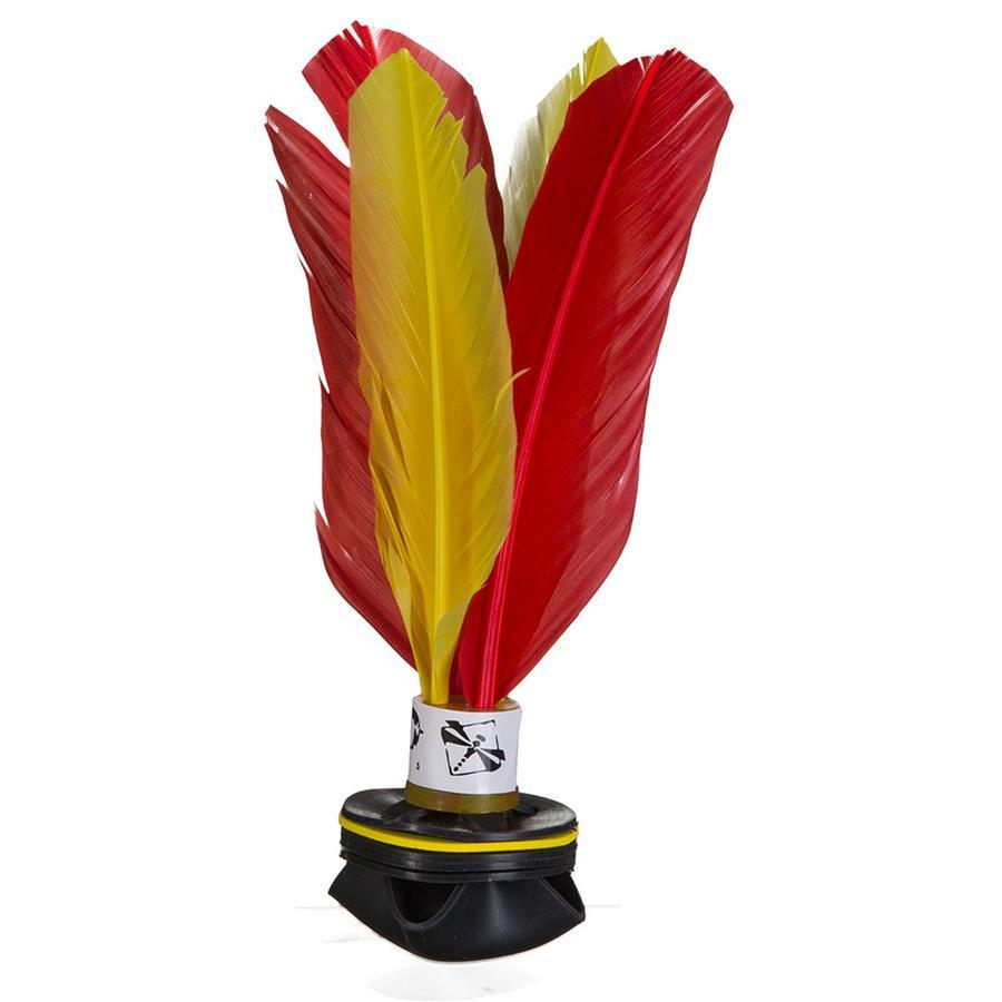 PiNAO Sports Handfederball Shuttle Gelb/Rot