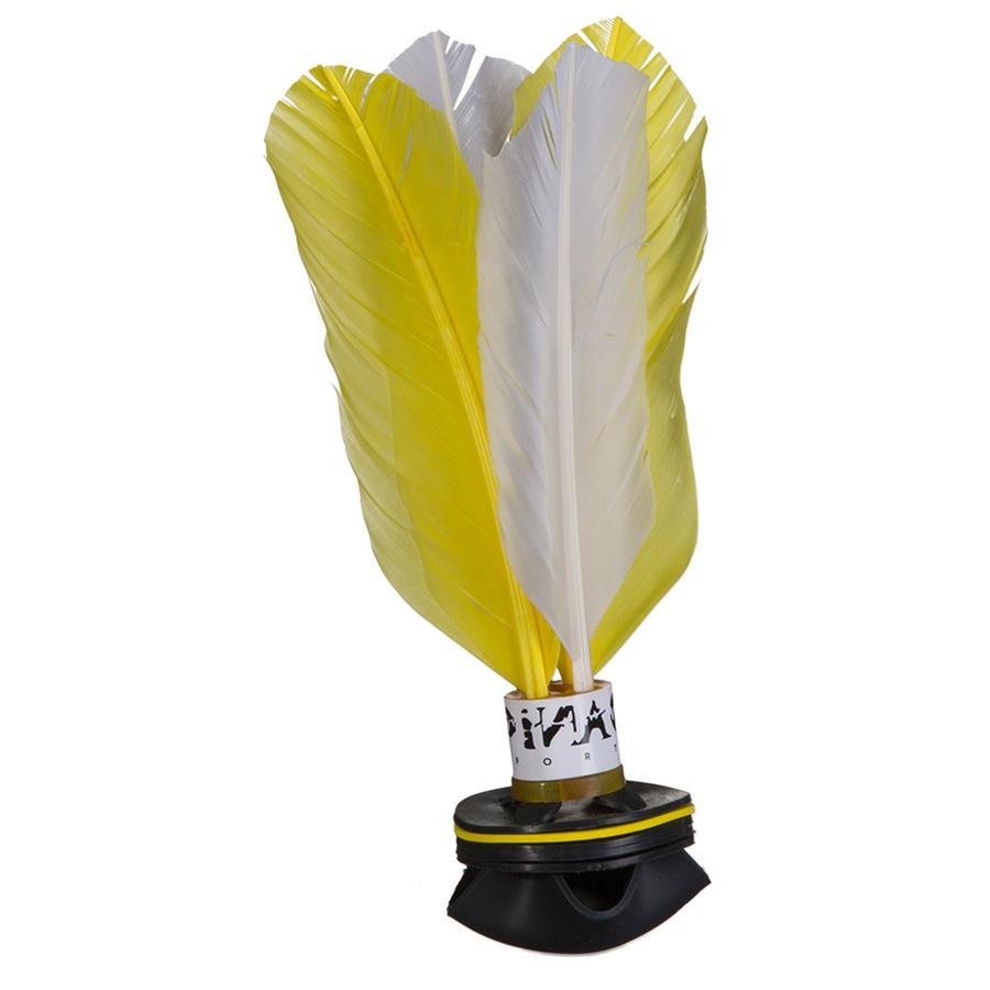 PiNAO Sports Handfederball Shuttle Weiß/Gelb