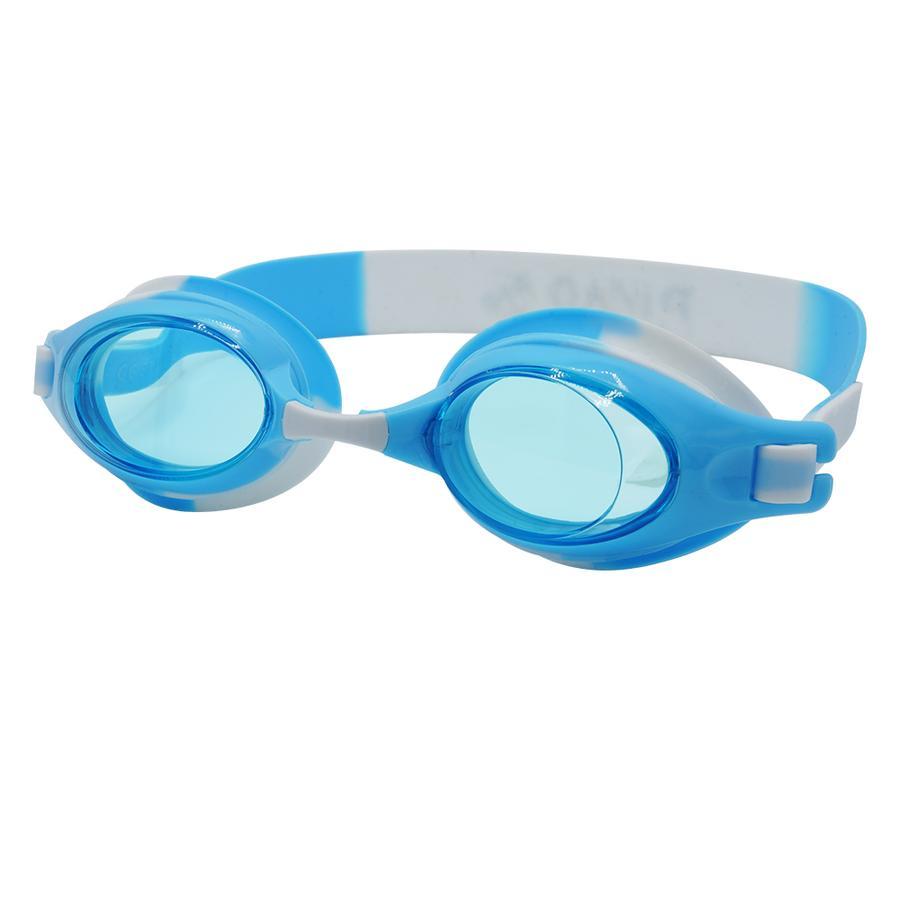 PiNAO Sports Lunettes de natation enfant aqua/blanc