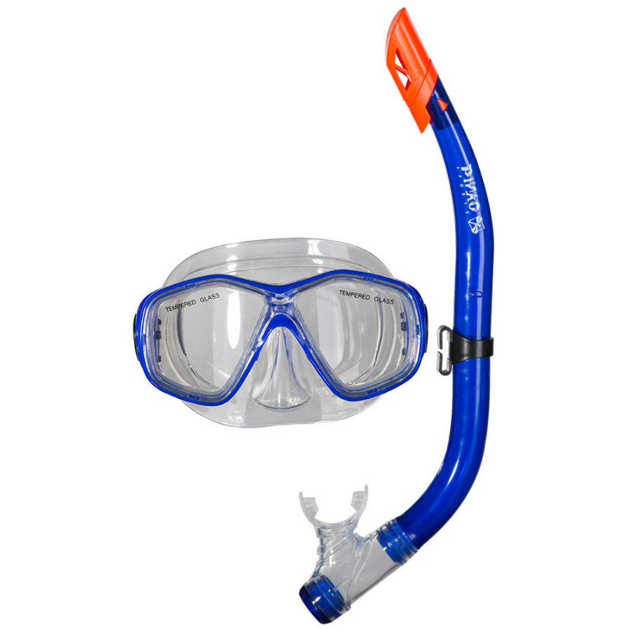 PiNAO Sports dykkesett for barn, blå