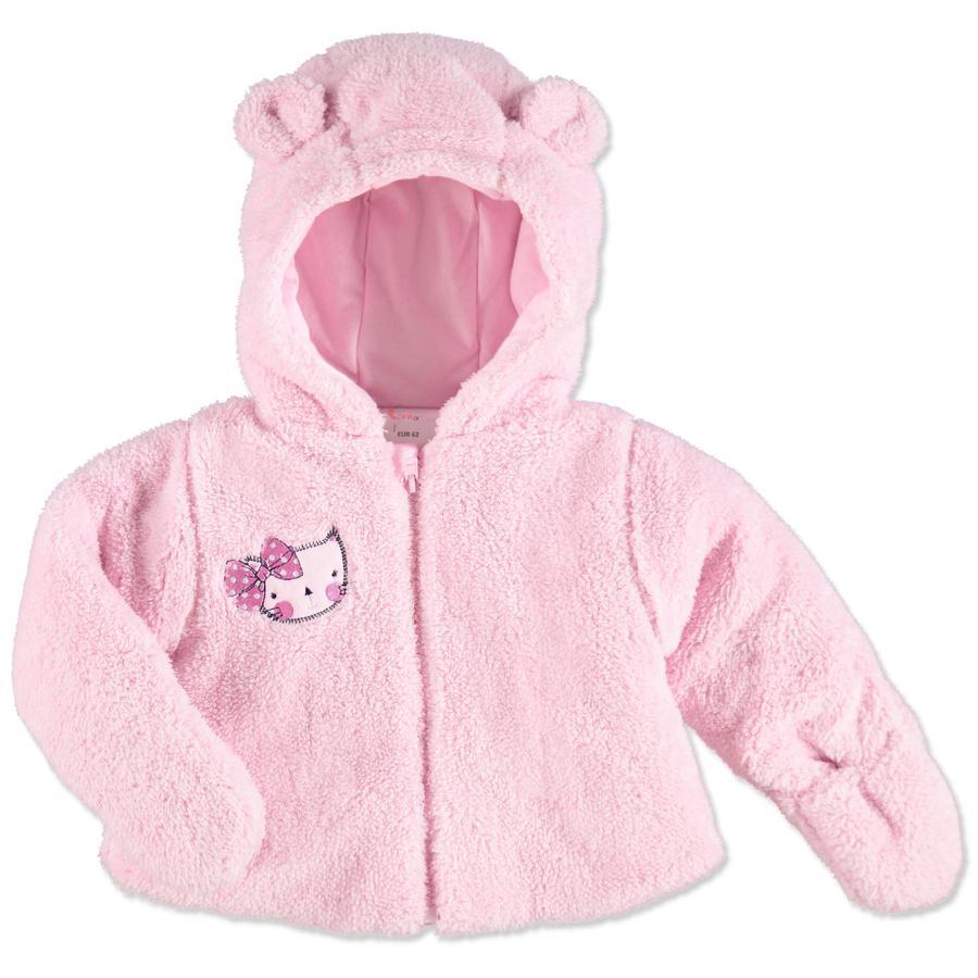 pink or blue Baby Jacka - rosa