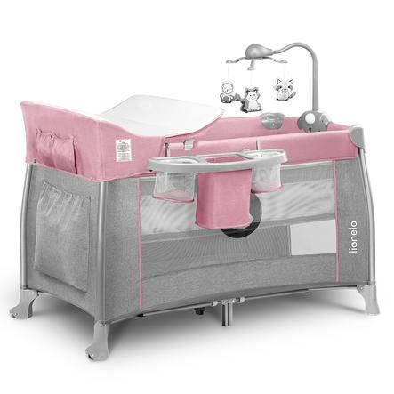 lionelo Reisebett Thomi Pink Baby