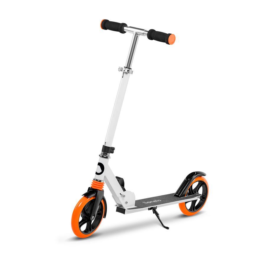 lionelo - Scoot han Luca hvid orange