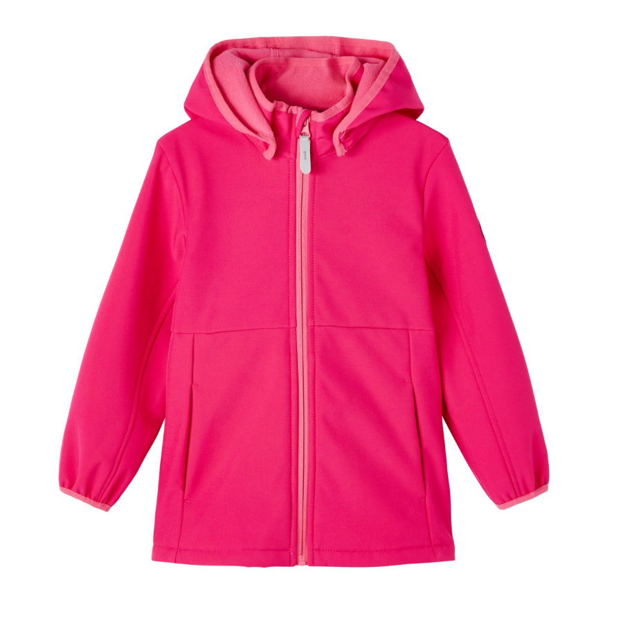 name it Softshelljacke Nmfmalta Pink Peacock