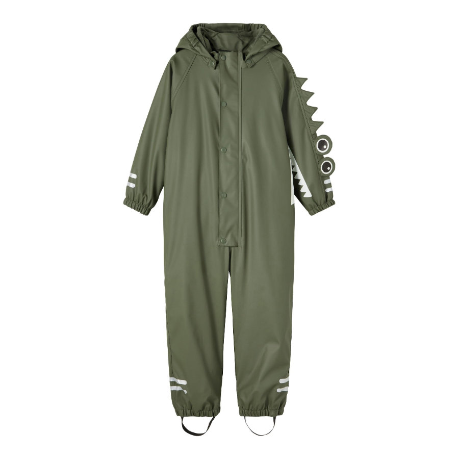 name it Rain Suit Nmmdry Thyme Crododile