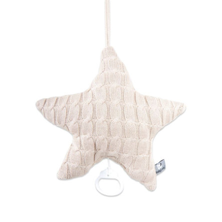 baby's only Spieluhr Stern Cable beige