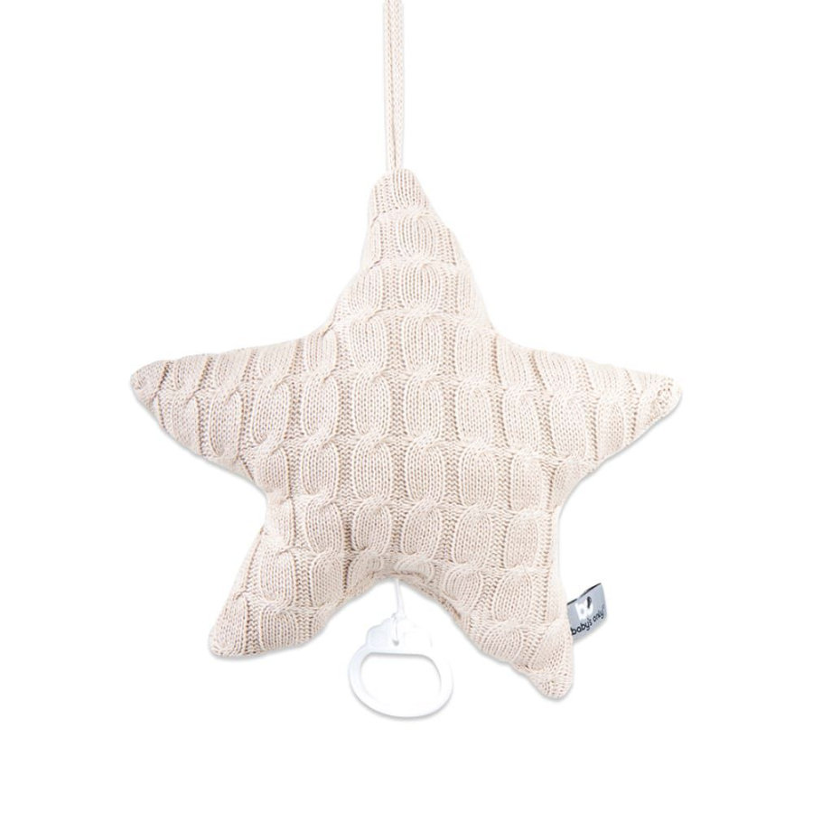 baby's only Music Box Star Cable beige