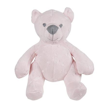 baby's only Kuscheltier Bär Cable klassisch rosa, 35 cm