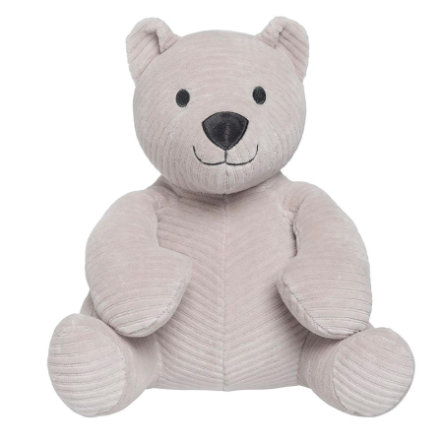baby's only Ours en peluche faux galet gris, 25 cm