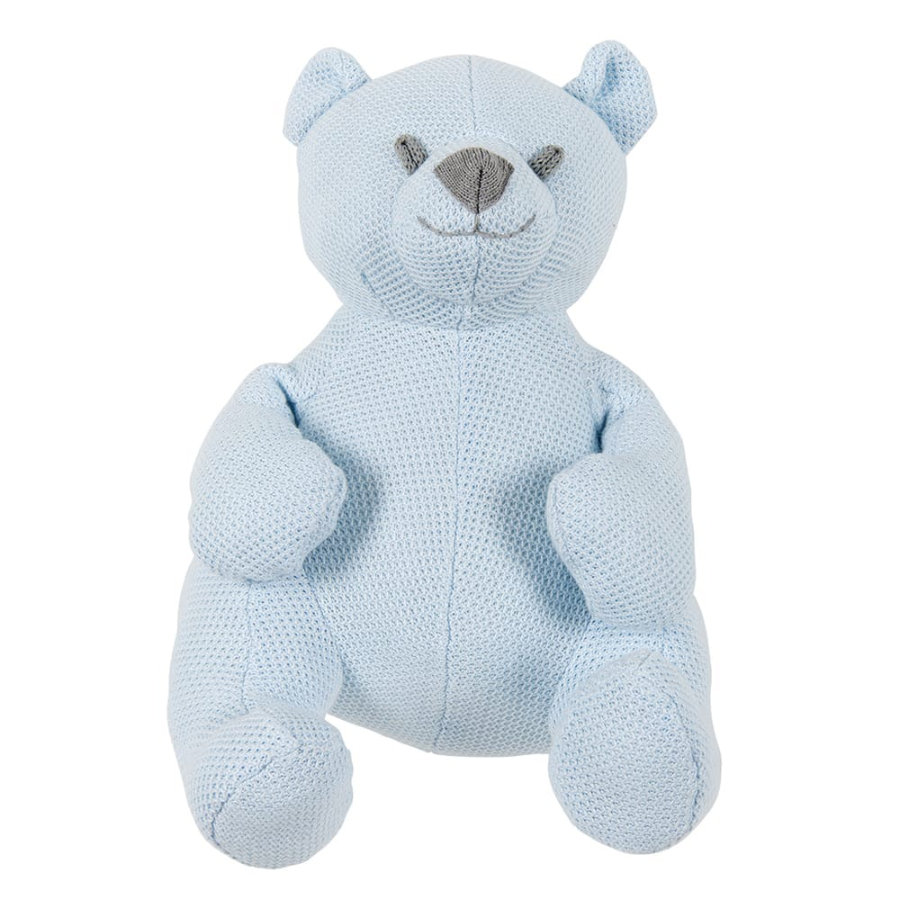 baby's only knuffelbeer Class ic poederblauw, 35 cm