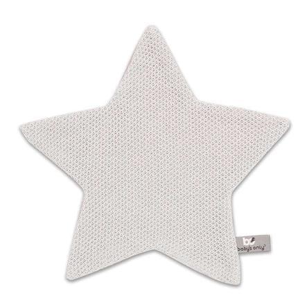 baby's only Étoile en tissu à câliner Class ic gris argenté