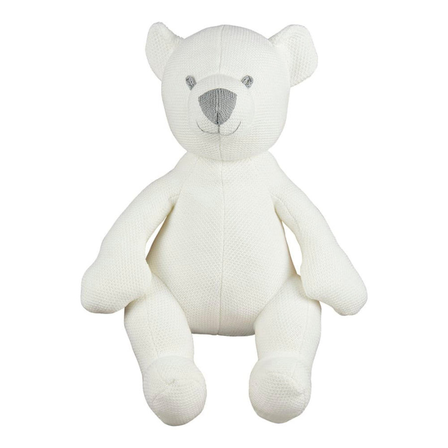 baby's only knuffelbeer Class ic wol wit, 35 cm