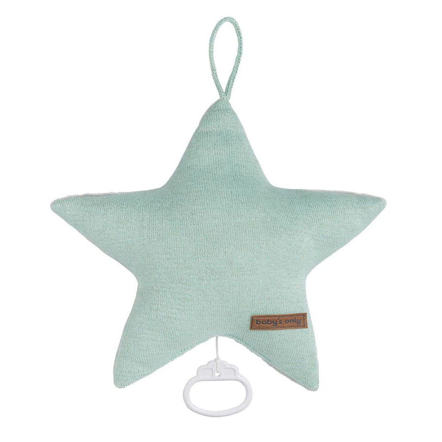 baby's only music box star sparkle gold-mint melee