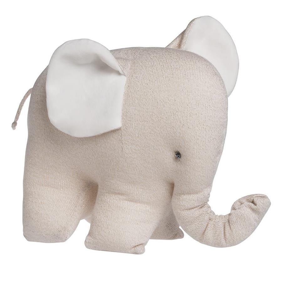 baby's only Kuscheltier Elefant Sparkle gold-elfenbeim melee
