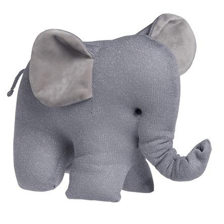 baby's only Kuscheltier Elefant Sparkle silbergrau melee
