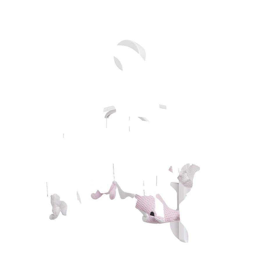 baby's only Musik Mobile klassisch rosa
