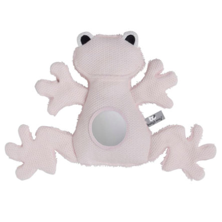 baby's only Kuscheltier Frosch rosa