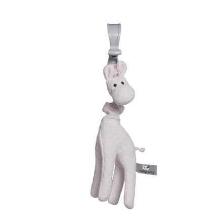 baby's only Kinderwagenanhänger vibrierende Giraffe klassisch rosa