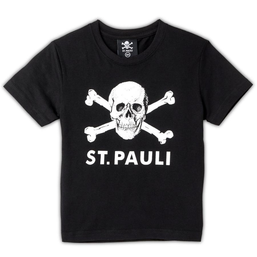 Dětské tričko s lebkou St. Pauli